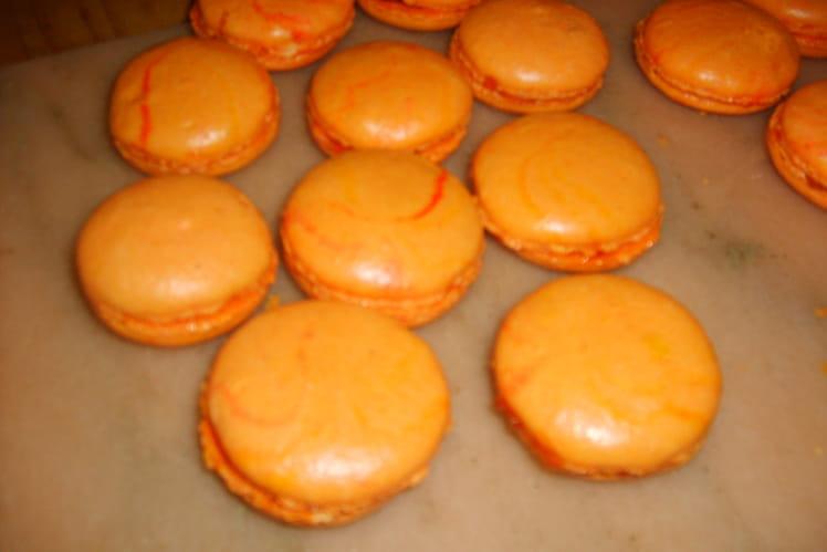 Macarons mamie blue