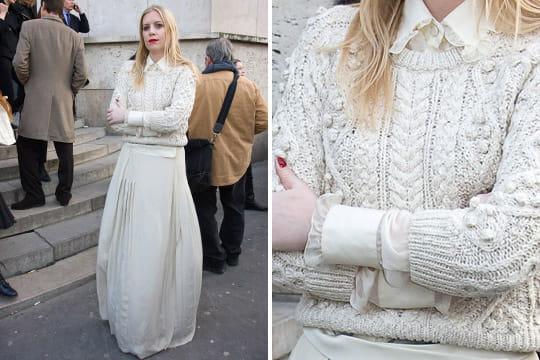 Fashion week : les street looks des défilés parisiens PAP automne-hiver 2011-2012 40