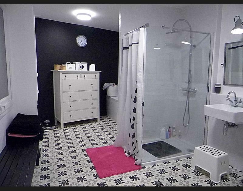La salle de bains des enfants