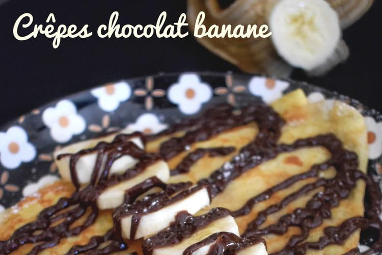 Crêpes chocolat banane de Pierre Hermé