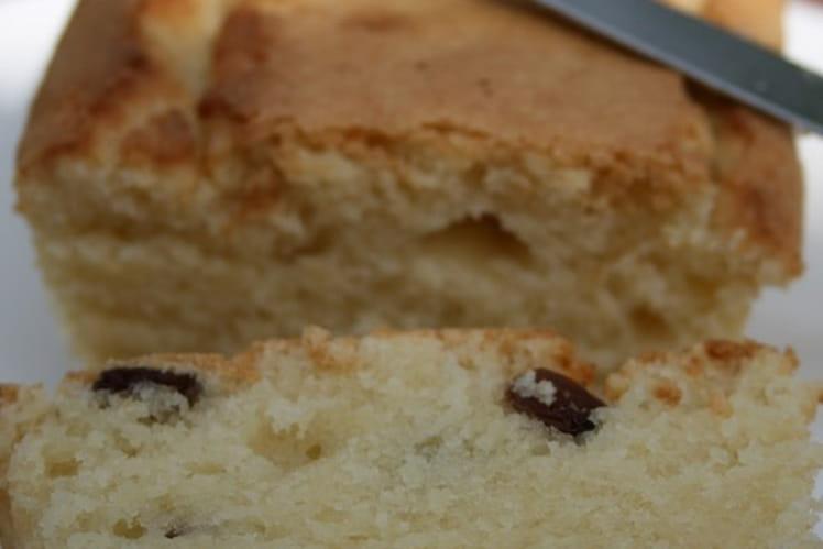 Gâteau coco-raisins secs, sans oeufs et sans gluten