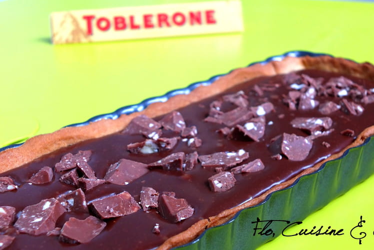 Tarte gourmande au Toblerone