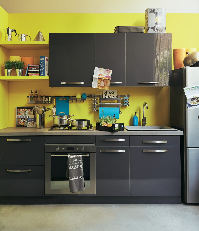 cuisine en longueur rimini d 39 alin a. Black Bedroom Furniture Sets. Home Design Ideas