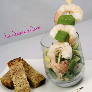 cocktail avocat-crabe