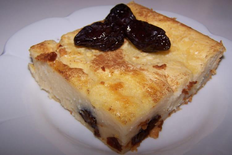 Far breton à la vanille et cannelle