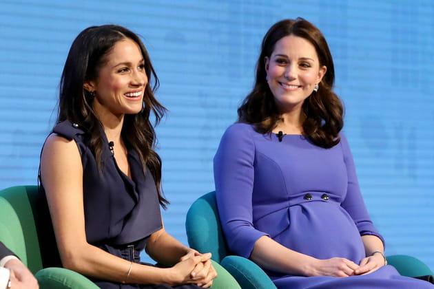 Les looks similaires de Kate Middleton et Meghan Markle