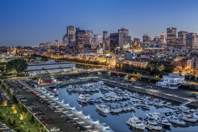 Embarquement pour Montréal