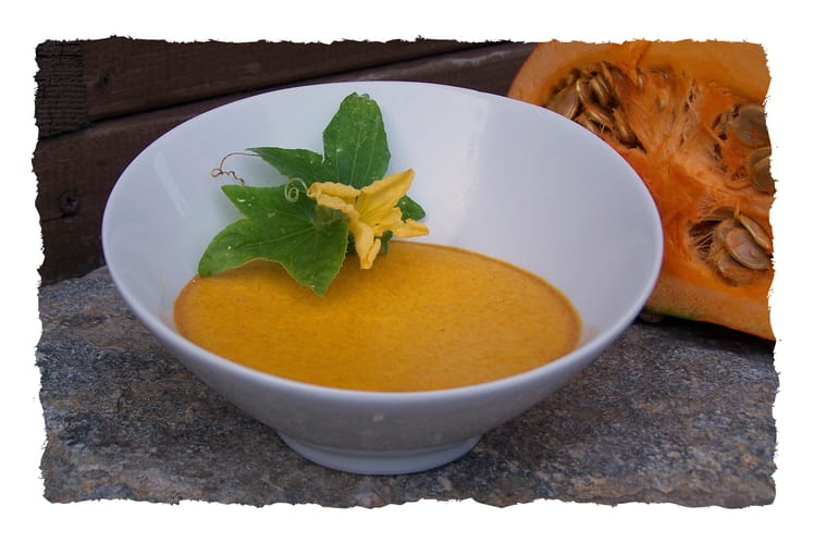 Crème sucrée au potiron et citron