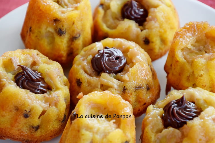 Muffins à la banane et aux pépites de chocolat, sans gluten