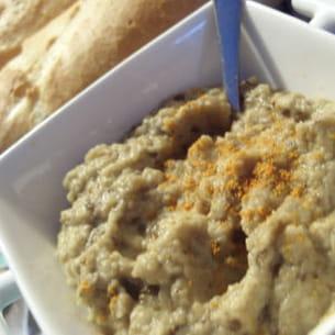 caviar d'aubergines aux anchois
