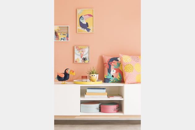 Tableau Yellow Toucan Maisons du Monde