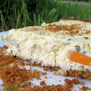 cheesecake poireaux-saint-jacques