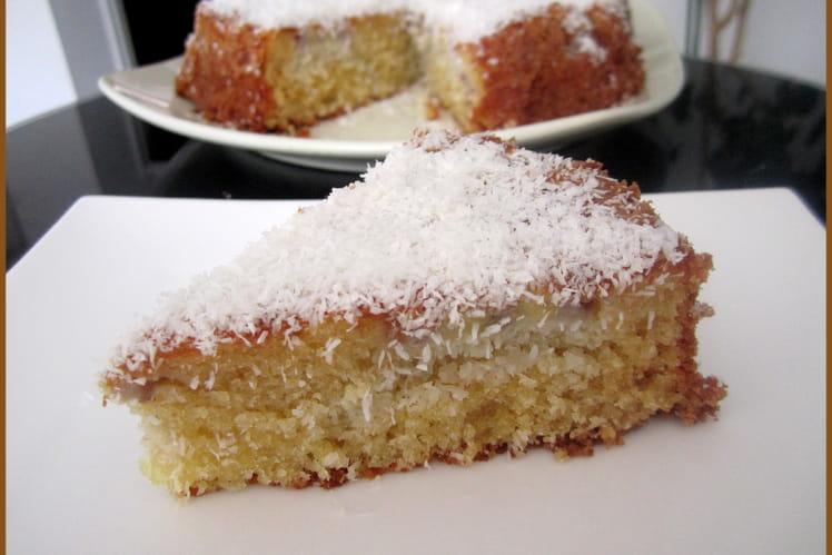 Gâteau banane-coco