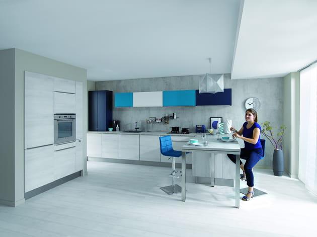 cuisine trend artic de cuisinella. Black Bedroom Furniture Sets. Home Design Ideas