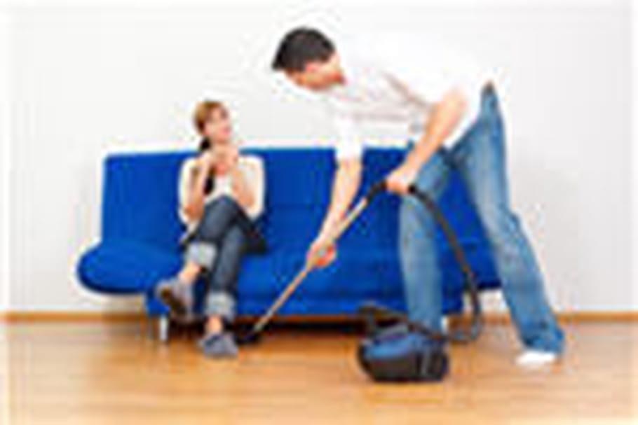 Faites faire le ménage à votre homme