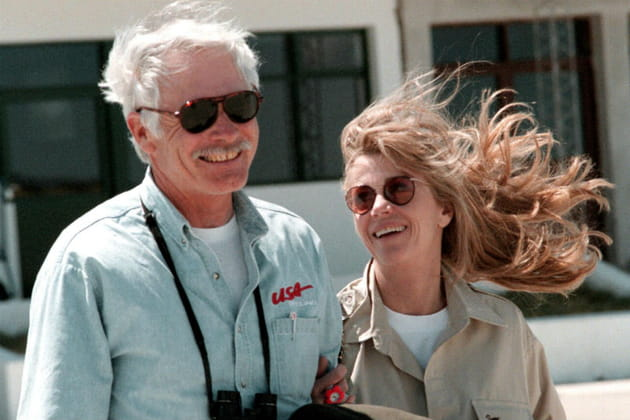 Jane Fonda et Ted Turner