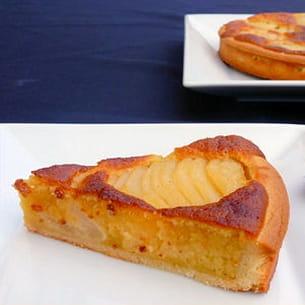 tarte aux poires façon bourdaloue