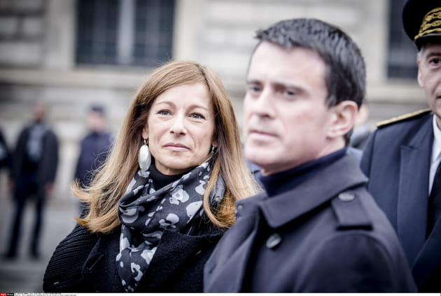 Lors des commémorations de l'attaque de Charlie Hebdo, 2016