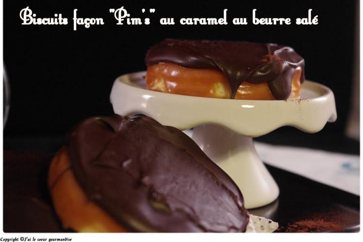 Biscuits façon Pim's au caramel beurre salé