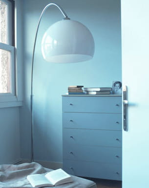 peinture 'ecume bleue' de la gamme equilibre de tollens