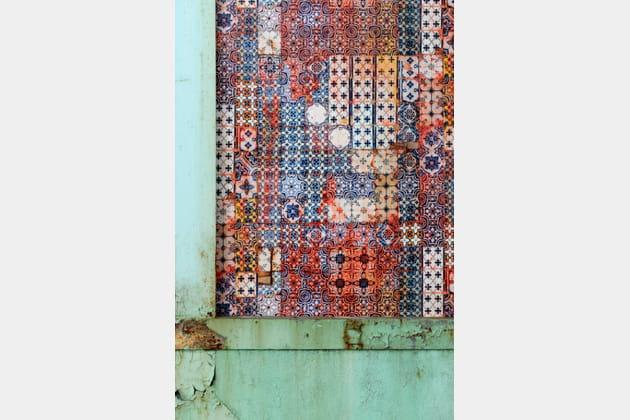 Papier peint Porto de Jean Paul Gaultier pour Lelièvre