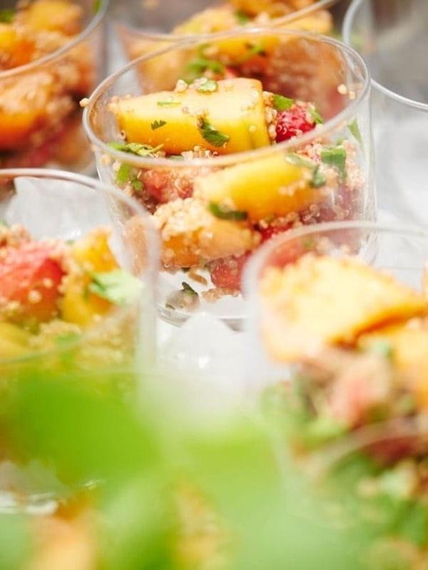 recette minceur salade de fruits au quinoa belge bio. Black Bedroom Furniture Sets. Home Design Ideas