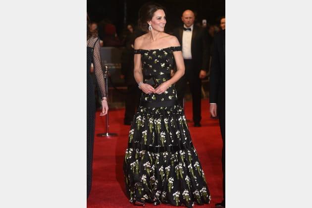 Kate Middleton le 12février 2017