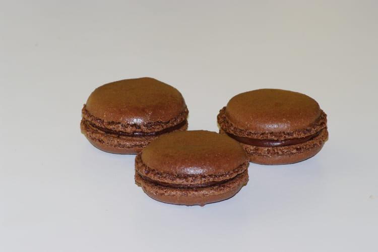 Macarons au chocolat inratables