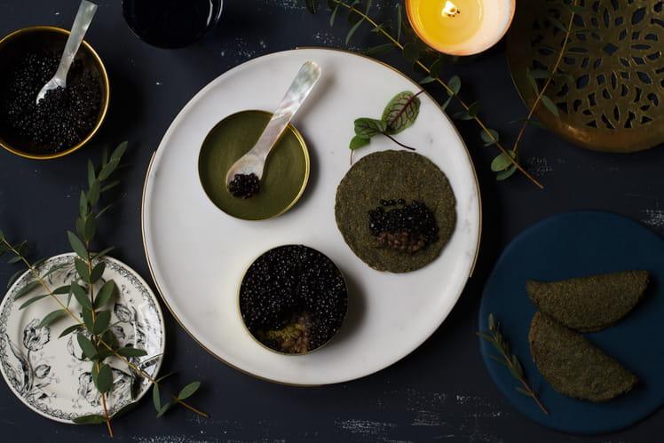 Caviar végétal au tapioca