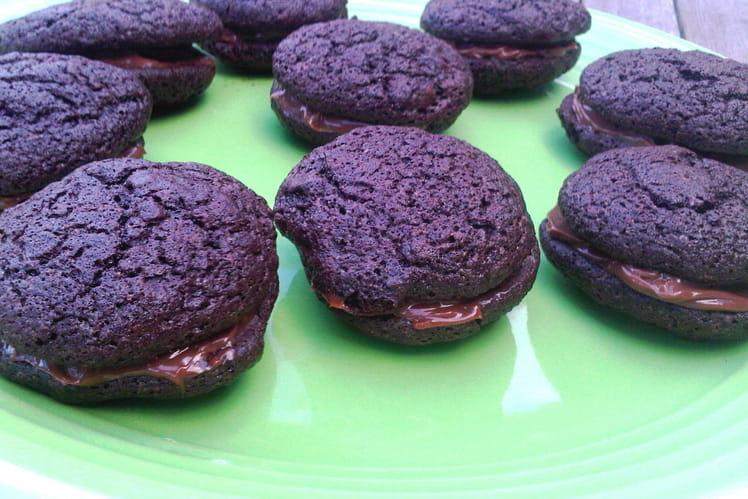 Whoopie pies au chocolat et Philadelphia Milka
