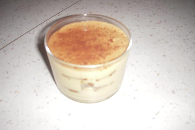 Tiramisu à la crème de spéculoos
