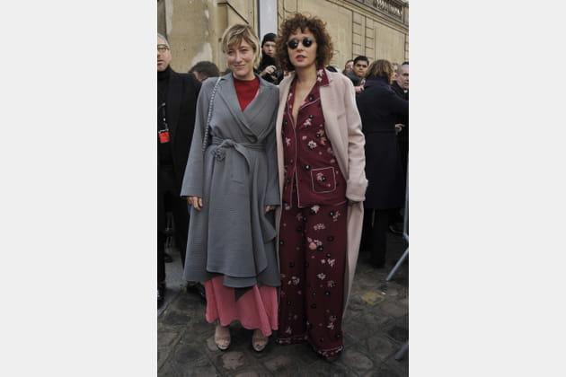 Valeria Bruni Tedeschi et Valeria Golino