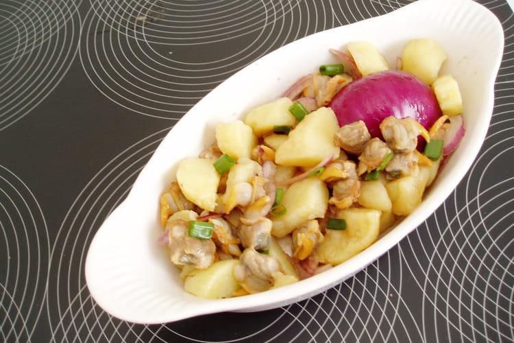 Salade aux coques de Bretagne