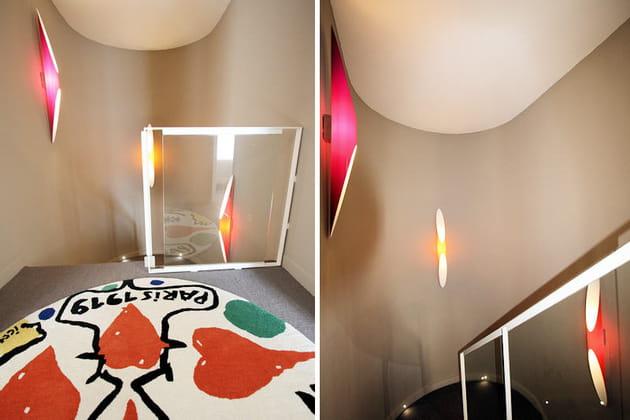 Un escalier futuriste