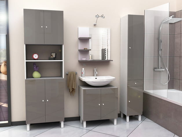 Meuble sous-lavabo Soramena par Conforama