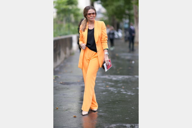 Street looks fashion week haute couture : trendy