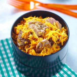 boeuf-carottes minute