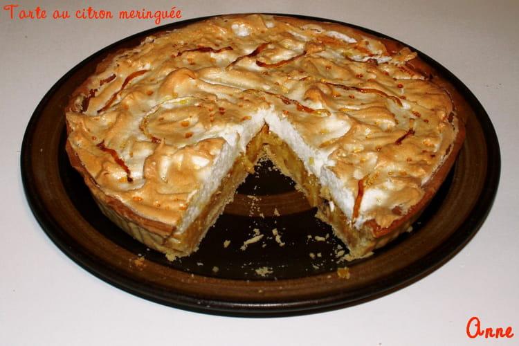 Recette de tarte au citron meringu e basique la recette facile - Tarte au citron meringuee facile et rapide ...