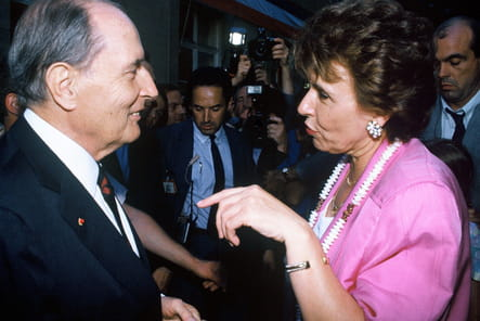 Garden Party avec Edith Cresson, le 12juillet 1991