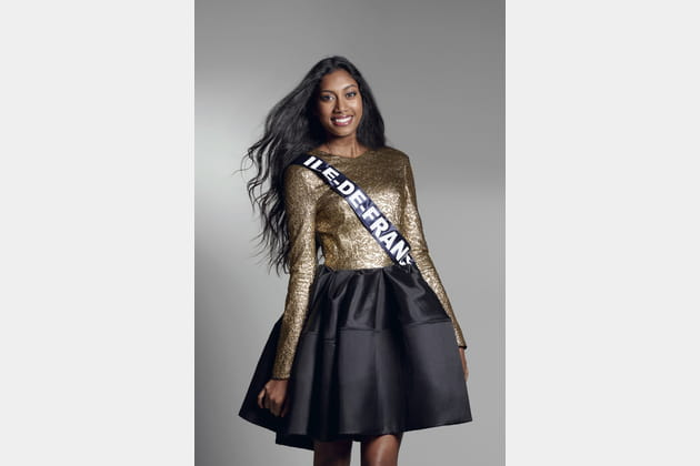 Miss Ile-de-France - Meggy Pyaneeandee
