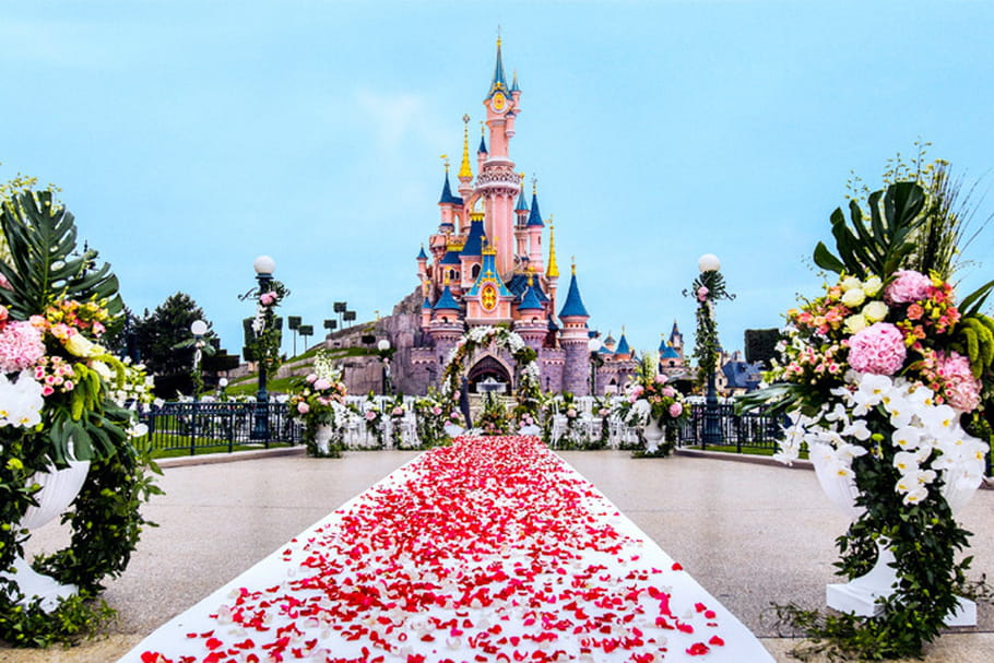 Un mariage de princesse à Disneyland Paris, c'est possible !