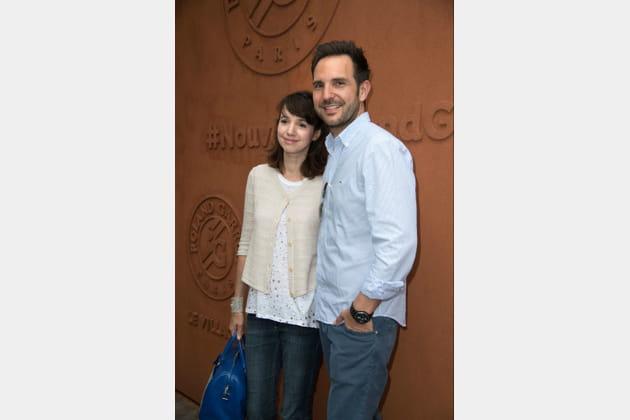 Christophe Michalak et sa femme Delphine McCarty