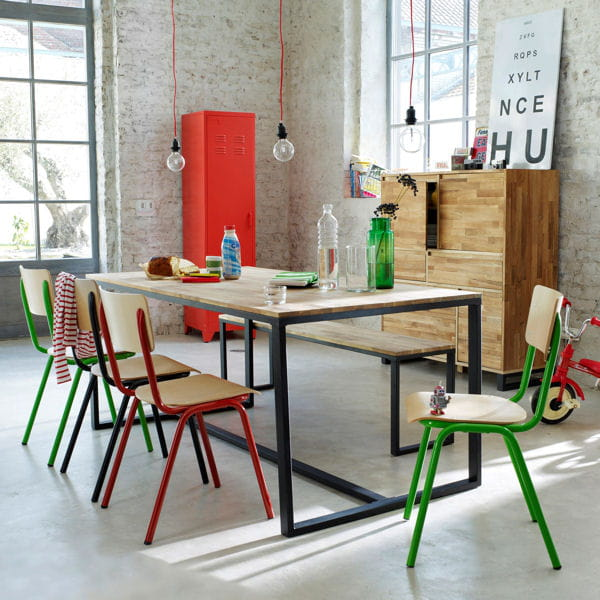 Chaise hiba de la redoute - Table hiba la redoute ...