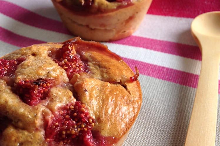 Muffins aux figues fraiches