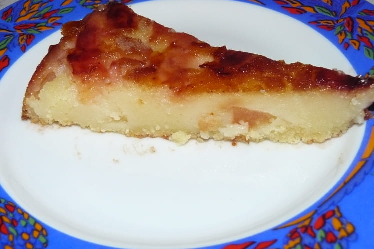 Gâteau aux coings caramélisés