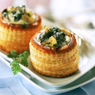 vol au vent d'escargot au riesling®