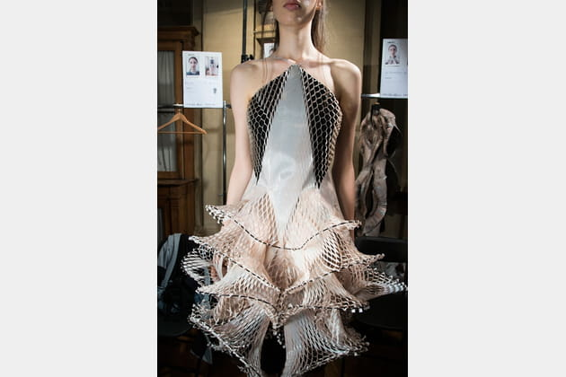 Iris Van Herpen (Backstage) - photo 7
