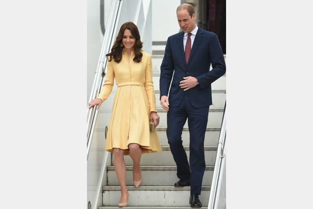 Kate Middleton le 14avril 2016