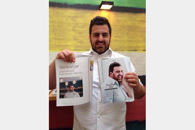 Jonathan Blot : pâtissier à la page