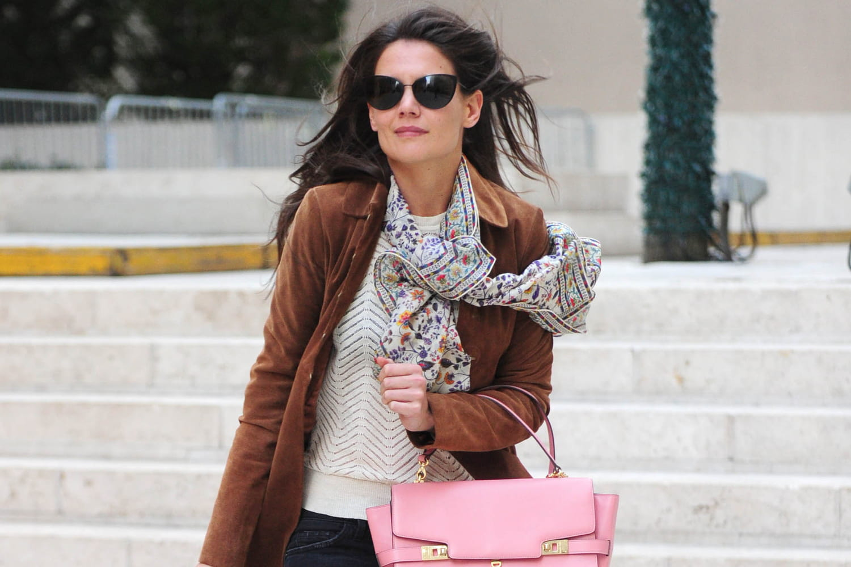Le look people du jour : Katie Holmes, casual-chic